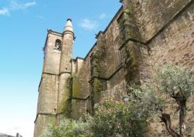 Zona de iglesias en Malpartida