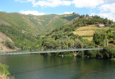 Embalse en A Fonsagrada