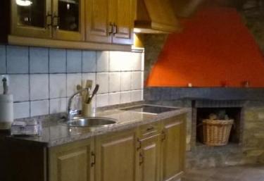 Cocina y estufa a leña