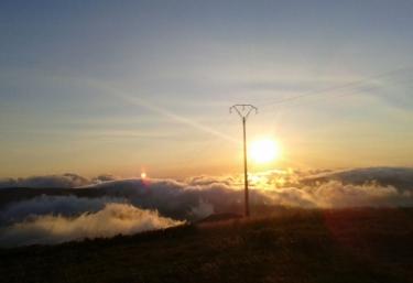 Puesta de sol en nuestras montanas