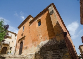 Fachada de la iglesia de San Miguel
