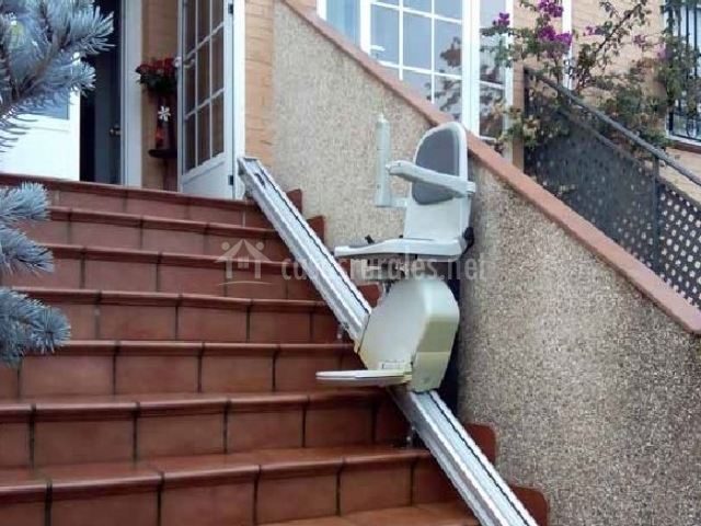 Escaleras adaptadas