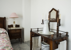 Mueble en el dormitorio