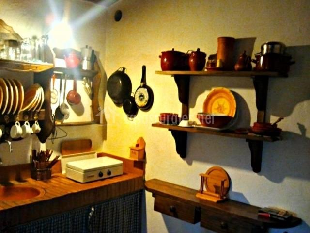 Casa rural la casilla en guadalcanal sevilla - La cocina del 9 ...