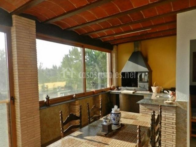 Casa saraso casas rurales en l 39 ampolla tarragona for Casa rural tarragona