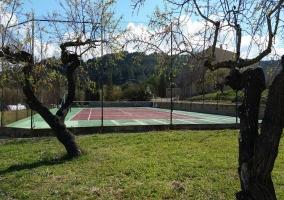 Vistas de las instalaciones deportivas