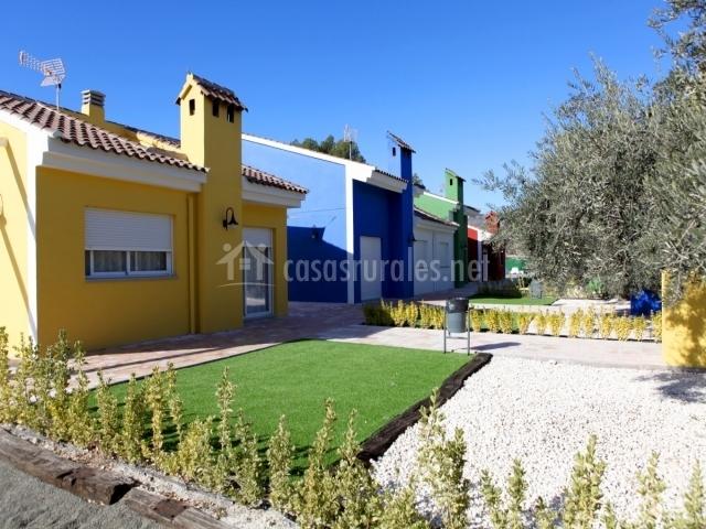 Casa amarilla de tahona casas rurales en moratalla murcia for La casa amarilla banos