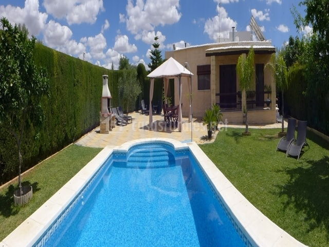 Casita de la cantera en la lantejuela sevilla for Casa rural sevilla piscina