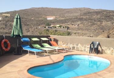 Casa-Cueva El Caidero - Artenara, Gran Canaria