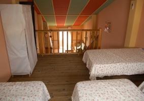 Sofás de la sala de estar que pueden convertirse en camas en caso de emergencia