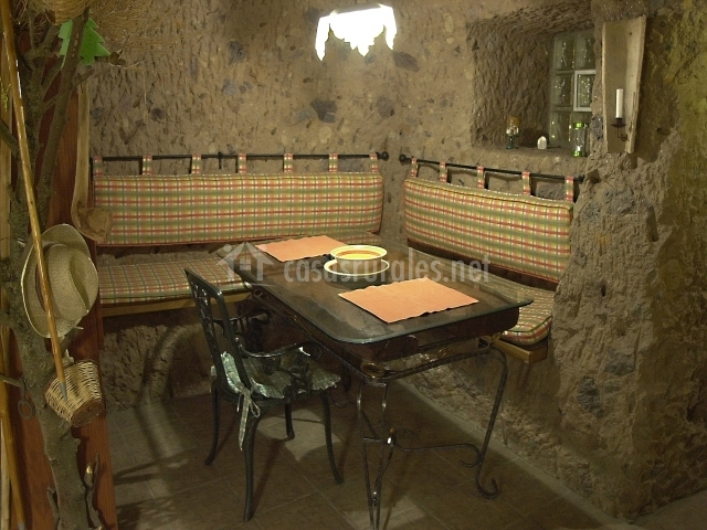 Casa cueva el mimo en artenara gran canaria - Casas de madera en gran canaria ...