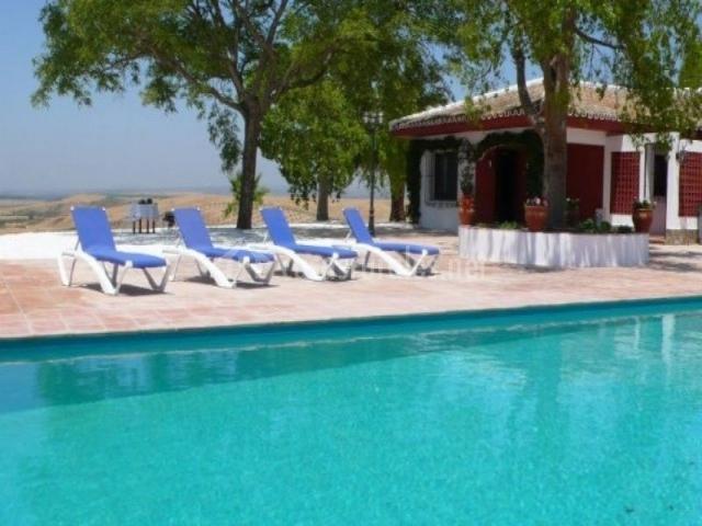Finca castellares en la campana sevilla for Tumbonas piscina baratas