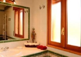 Cuarto de baño completo