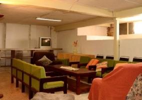 Sala de estar en zona baja