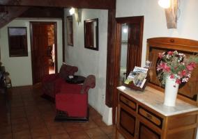 Mueble en el recibidor