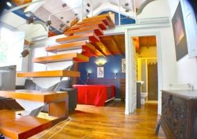 Panorámica del interior de la casa