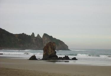 Beautiful beach of Aguilar