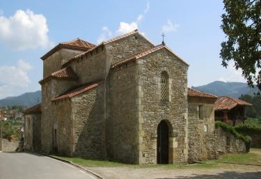 Church of Santianes de Pravia