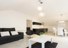 Terraza con muebles