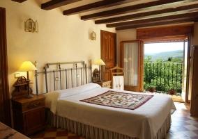 Dormitorio con preciosas vistas