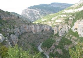 El cañón de Leza