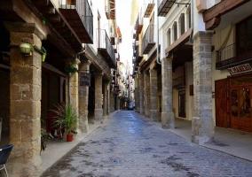 Entrechas calles de Morella