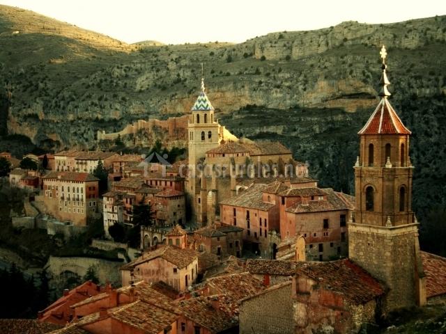 Casco antigio de Albarracín