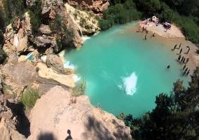 Río Cabriel: muy cristalino