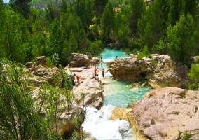 Playas naturales del río