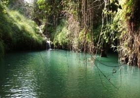 Río en Villamalea