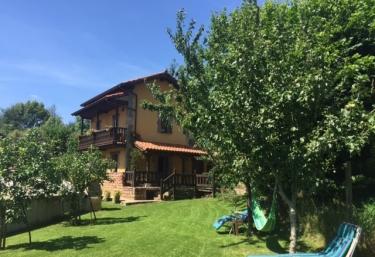 La casa y sus exteriores