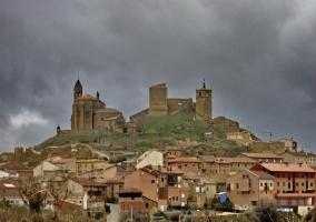 Castillo en San Vicente de la Sonsierra