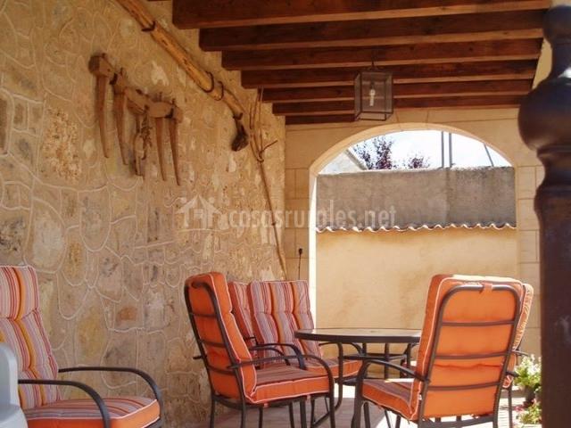 El arroyal casas rurales en rades de abajo segovia - Sillas de porche ...