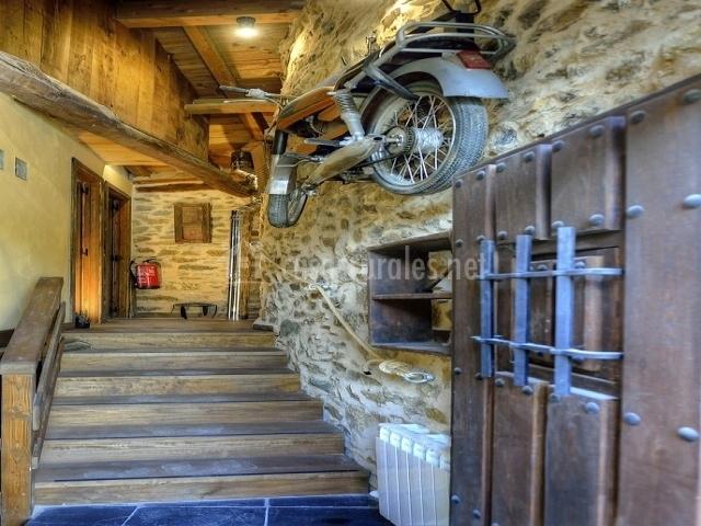 Entrada al interior de la casa