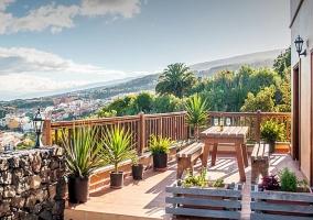 Otra vista de la terraza