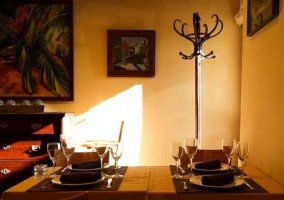 Cocina salón y comedor