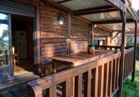 Casa Cabana os Troncos I