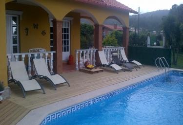 Casas rurales con piscina en marin san xian - Casa rural marin ...