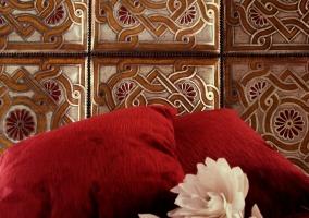 Cojines y decoración cama