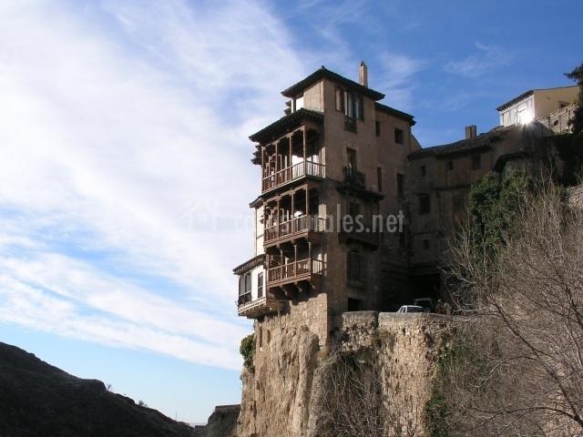Casa colgante en Cuenca