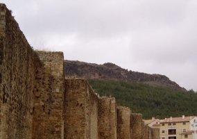 Muralla defensiva de Cañete