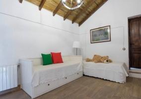 Dormitorio cuádruple