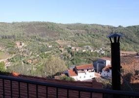 Buenas vistas de la terraza
