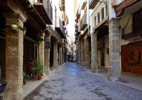 Calles peatonales de Morella