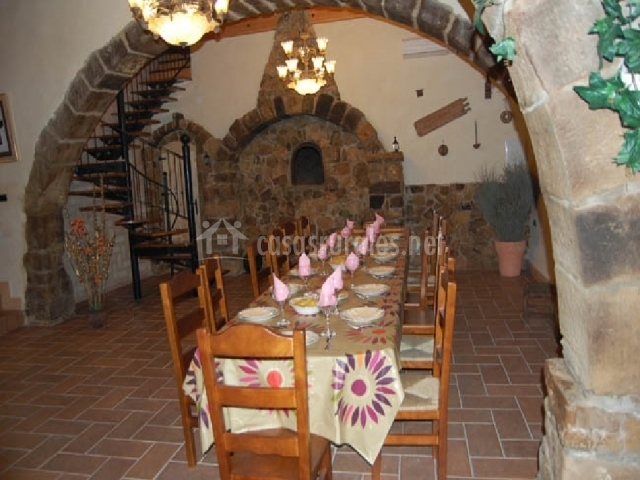 Casa rural el forn del sitjar en cabanes castell n - Casa rural madera y sal ...