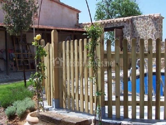 Casa lentisco en calzada de calatrava ciudad real for Piscina ciudad jardin sevilla