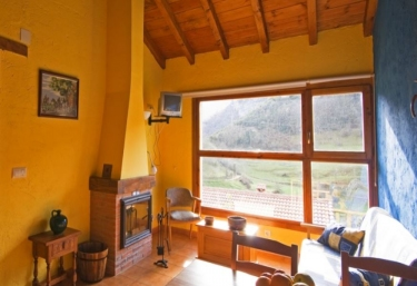 Casas Colgadas del Cares - Llonin, Asturias