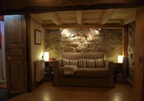 Sofá del dormitorio principal