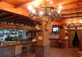 Bar del alojamiento