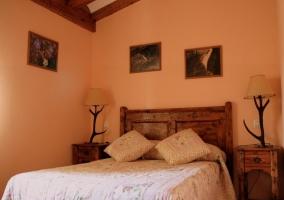 Dormitorio del apartamento 1